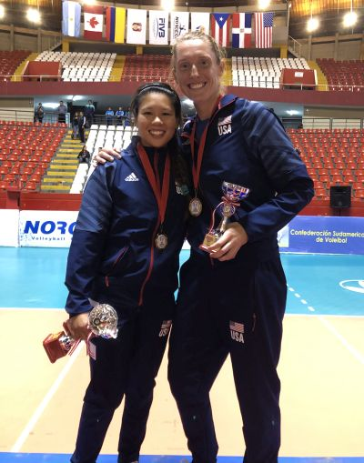 ALUMNI:  US wins Pan-Am Volleyball Cup, Wong-Orantes named Best Libero