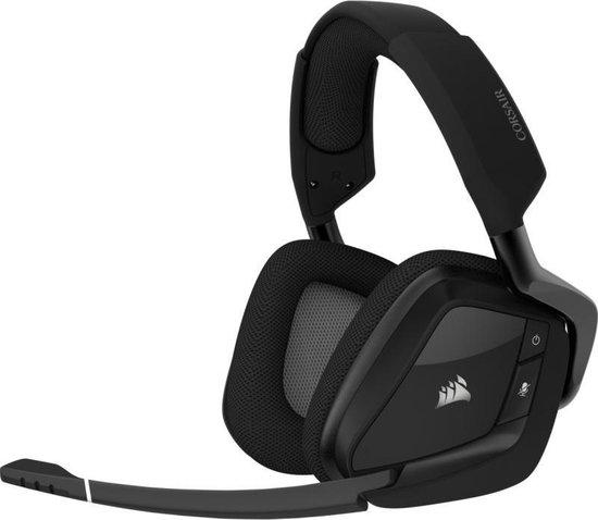 Corsair Void RGB Elite Draadloze 7.1 Virtual Surround Sound Gaming Headset - Zwart - PC