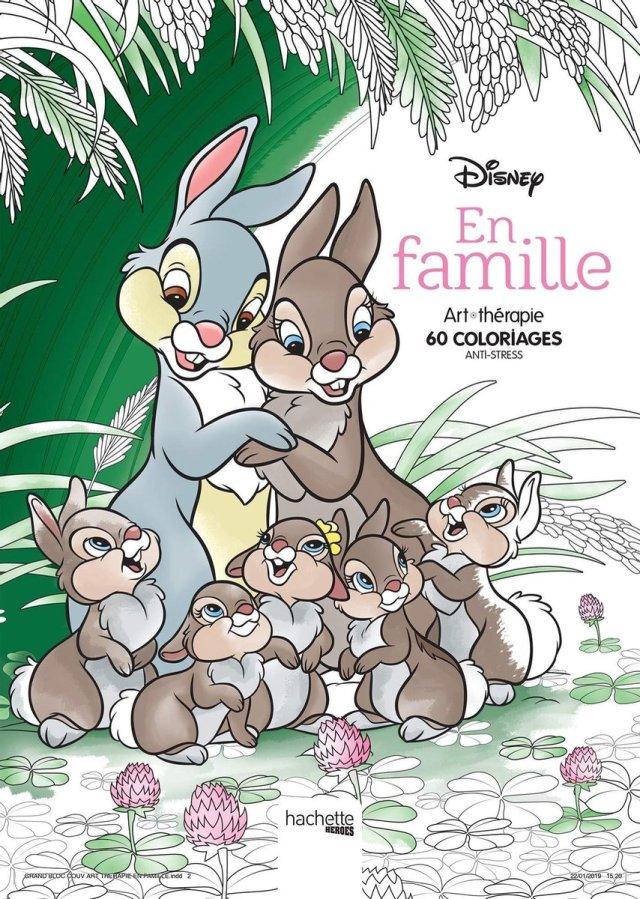 Disney En famille Coloring Book