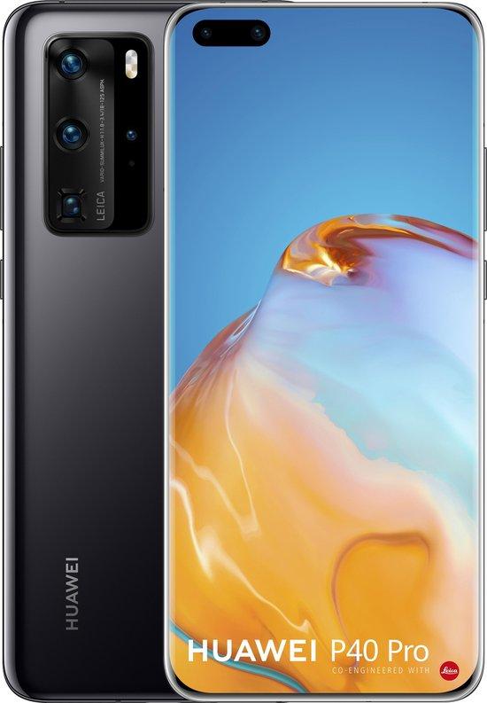 Huawei P40 Pro (geen gebruik Google Playstore) - 5G - 256GB - Zwart