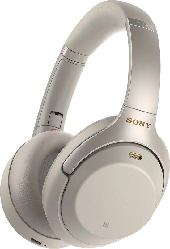 Sony WH-1000XM3 - Draadloze over-ear koptelefoon met Noise Cancelling - Zilvergrijs