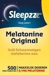 Sleepzz Melatonine Original Voedingssupplement - 500 Smelttabletten