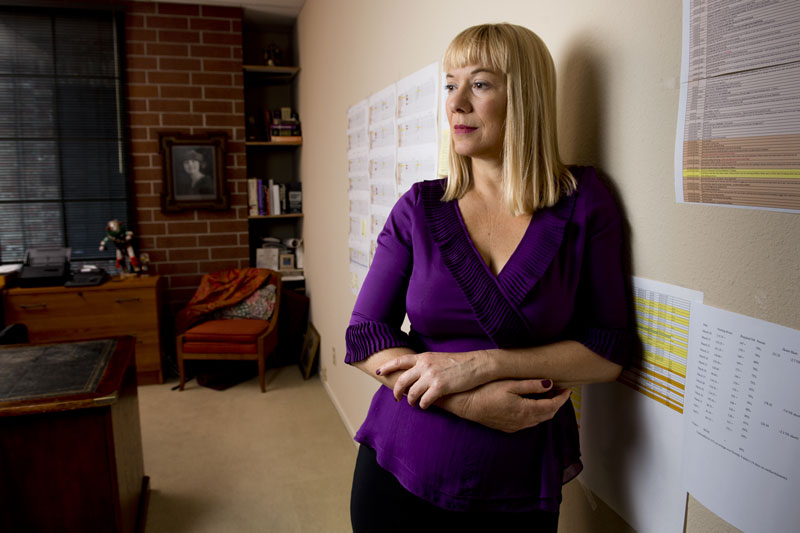 "Sacramento attorney Lesley Ann Clement specializes in elder abuse. Attorneys who sue nursing homes have had to become experts in dissecting the complex business structures. ""The more facilities they have, the more layers they typically have,"" Clement said."