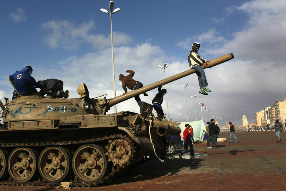 libyan uprising