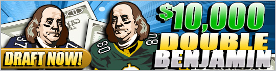 DraftDay NFL Week 3 Offer: Enter the $3,000 Drive and get a free entry to the $5k Grand Slam on Sep. 30th 1