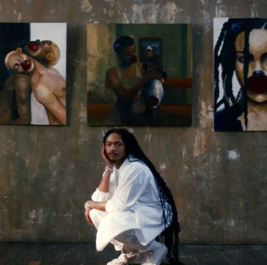 How Painting Helped This Artist Make Peace With His Skin Condition
