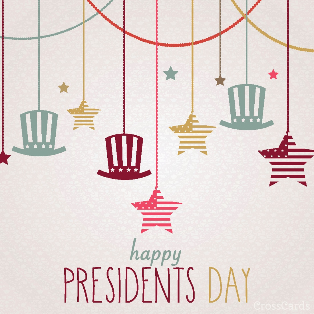 Presidents Day Ecard