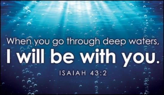 Image result for deep waters jesus