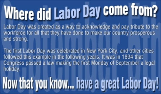 Image result for labor day ecard