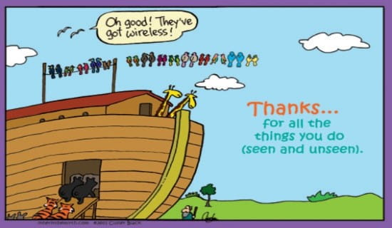 Thanks ECard Free Inherit The Mirth Greeting Cards Online