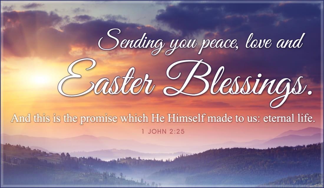 Easter Blessings ECard Free Easter Cards Online