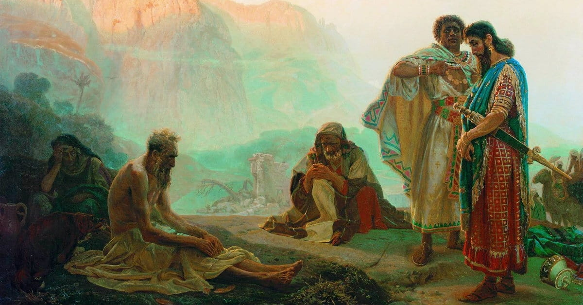 Image result for book of job painting