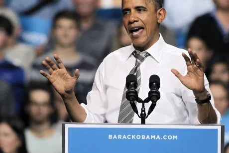 Obama pulls ahead in Real Clear Politics polling average