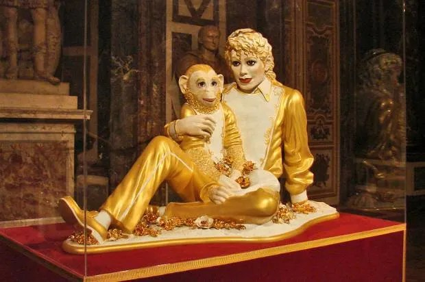 When Jeff Koons painted Michel Jackson white