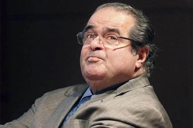 Scalia's utter moral failure: How he destroys any claim to a superior system of justice
