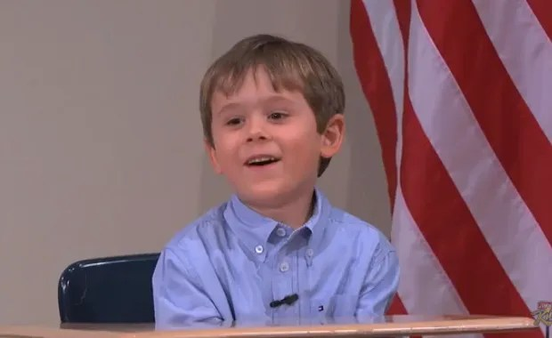 Must-see morning clip: Meet 5-year-old presidential expert Arden Hayes