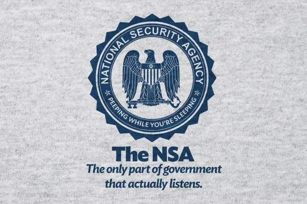 The parody shirt the NSA doesn't want you to wear