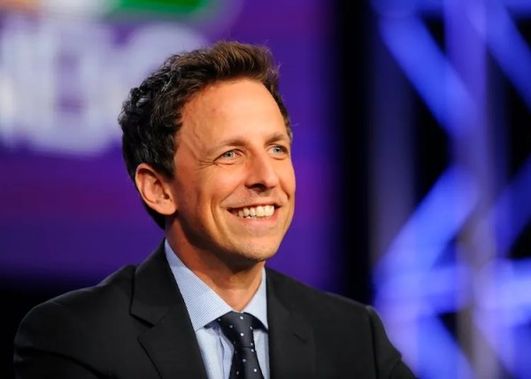 """The best thing about Seth Meyers on """"Late Night"""": His ..."""