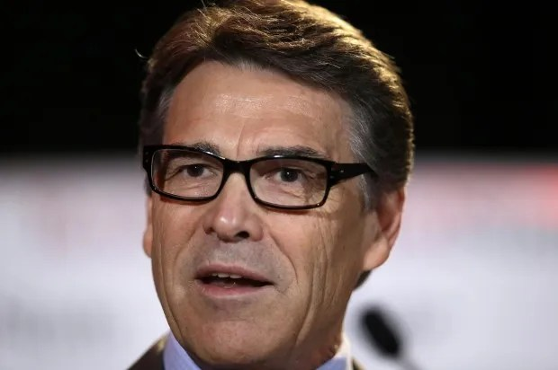 "Down goes Perry! The GOP's ""deep bench"" just completely fell apart"