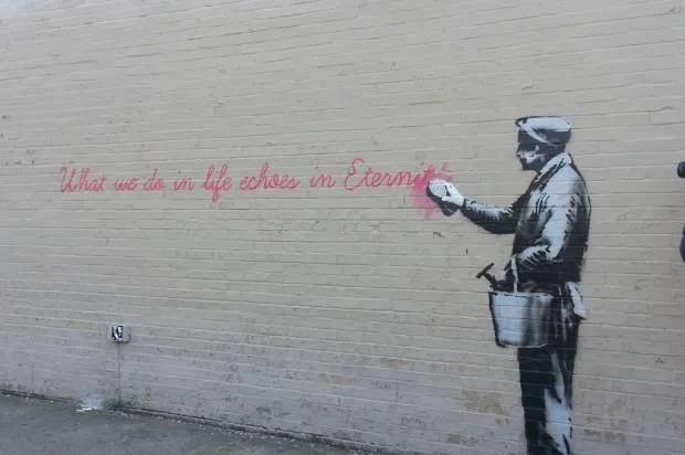 Banksy, gentrification and the end of graffiti