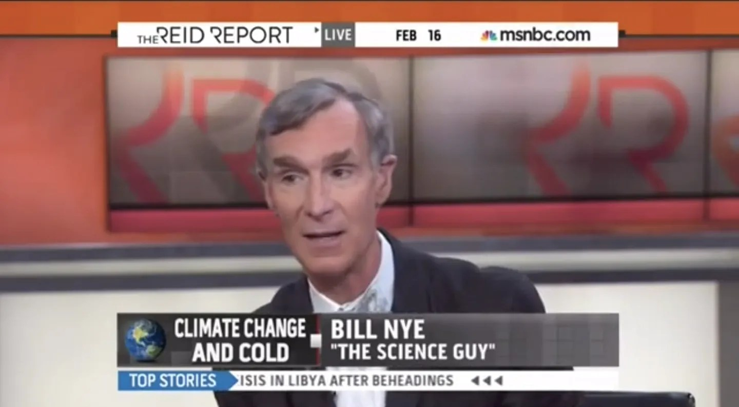 Bill Nye Destroys Climate Deniers Most Infuriating