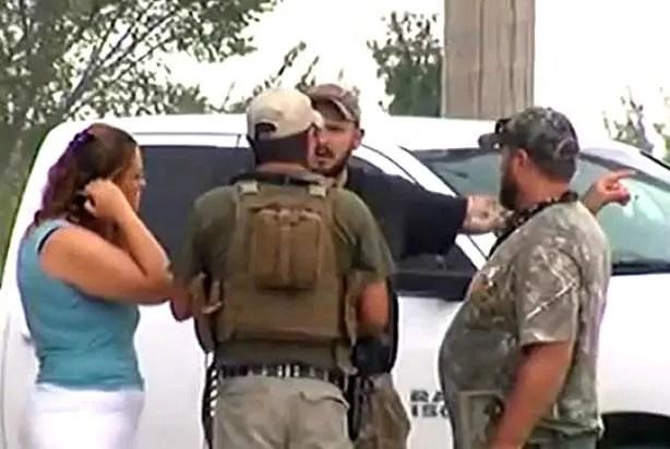 """Don't paint us as hillbillies"": Man guarding ""Muslim-free"" gun range bends over, drops weapon, accidentally shoots self"