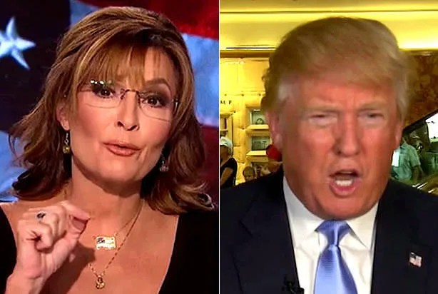 "Sarah Palin and Donald Trump whine about ""gotcha"" journalism in inane interview straight out of ""Idiocracy"""