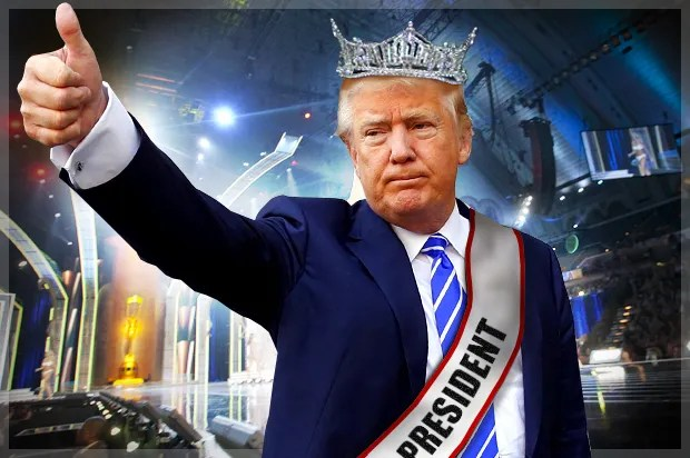 Image result for photos of trump Victory Tour.