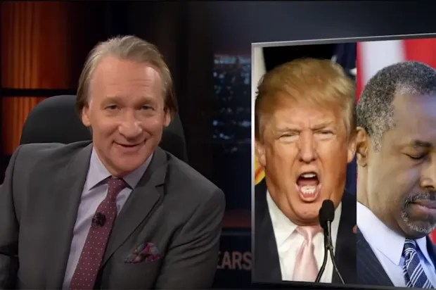 Bill Maher hammers Donald Trump and Ben Carson: 'Experience? Republicans avoid that like a gay son!'