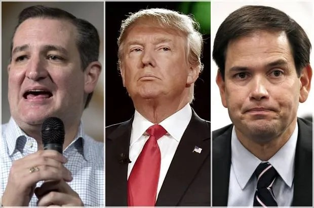 And then there were 3: Debate confirms that GOP race comes down to Cruz, Trump and Rubio