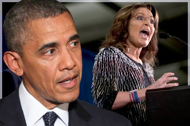 """President Obama draws """"a straight line"""" from Sarah Palin to Donald Trump: The GOP """"just seems to get worse"""""""
