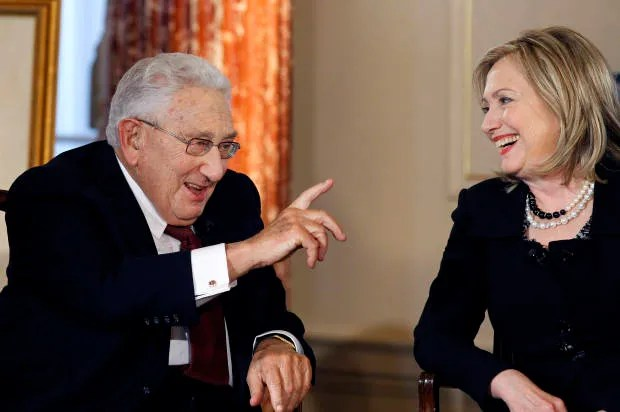 "Henry Kissinger's ""mad and illegal"" bombing: What you need to know about his real history -- and why the Sanders/Clinton exchange matters"