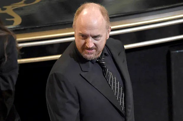 """""""5 seconds of Louis CK and now we all want him to host"""": Oscar viewers go wild for the comedian's blunt award intro"""