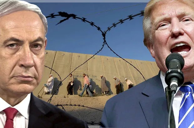 """Netanyahu says he'll surround Israel with walls to keep out """"wild beasts,"""" leading to Trump comparisons"""