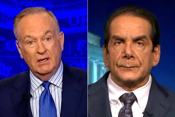 Charles Krauthammer ridicules Bill O'Reilly for using ...