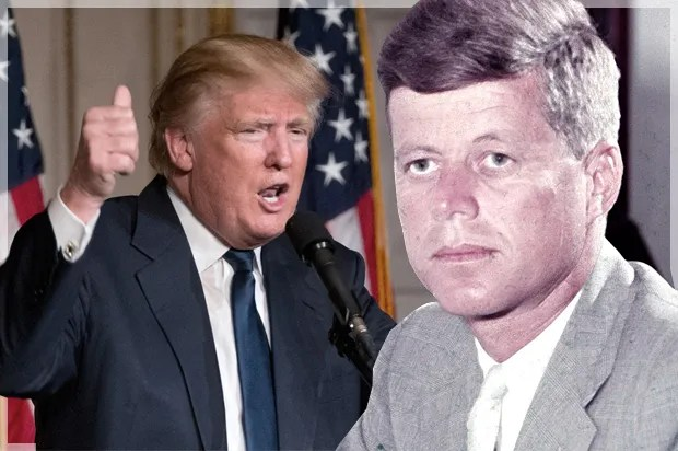 Image result for trump kennedy assassination