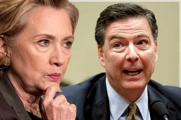 Image result for hillary comey