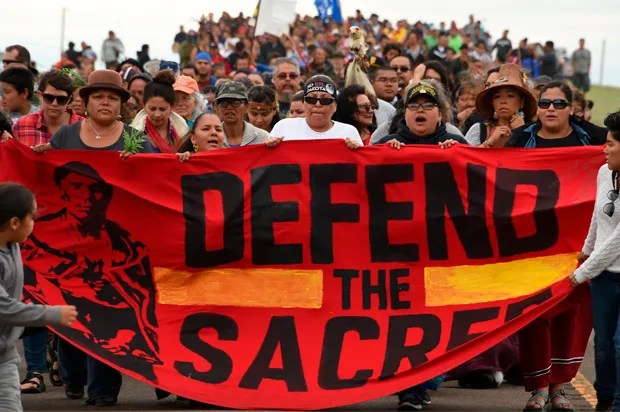 Dakota pipeline showdown at Standing Rock: When a powerful corporate chief is resisted by defenders of Native American ceremonial grounds