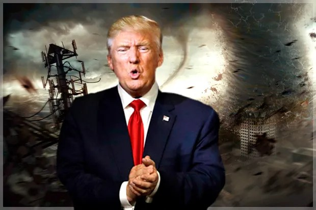 Image result for trump chaos