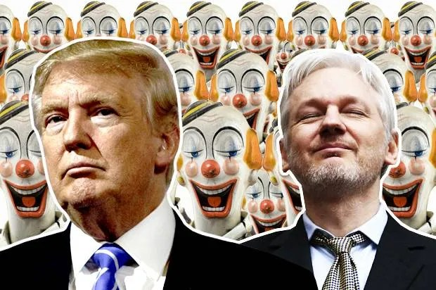 Send in the clowns: Donald Trump, Julian Assange and the enemies of liberal democracy