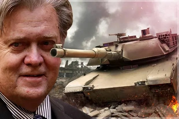 Will Trump and Bannon drag us into another big ground war? It could happen sooner than we think