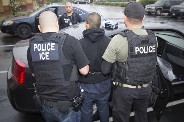"""Fake ICE notices telling people to """"report illegal aliens"""" are appearing in Washington D.C."""
