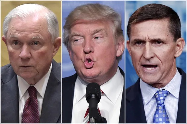 Can Jeff Sessions be trusted to investigate Flynn, Trump and the Russians? The answer should be obvious