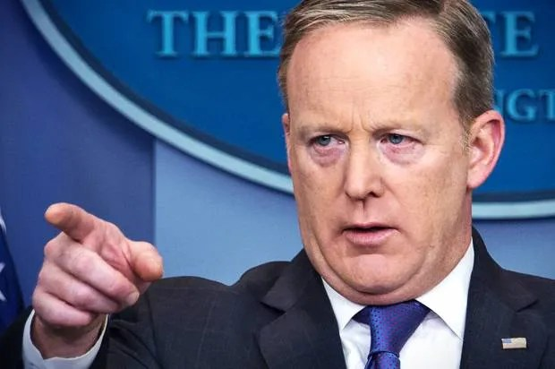 """There can be no joy in such incompetence"": Journalists call for Sean Spicer to be fired following ""Holocaust center"" comments"