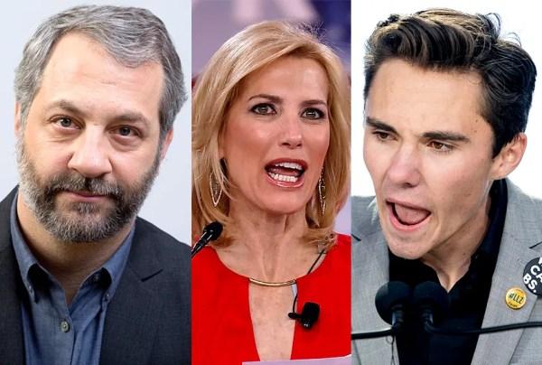 David Hogg, Judd Apatow call for a boycott of Fox News ...