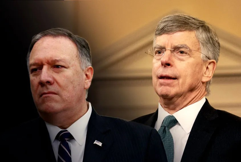 Mike Pompeo, secretary of nothing: Unlike Bill Taylor, he ...