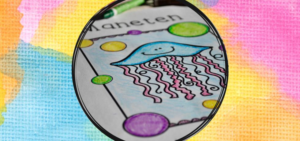 pedagogisk målarbild för barn