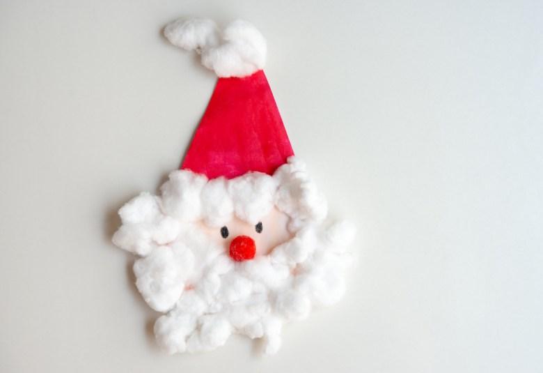 jultomte med bomull