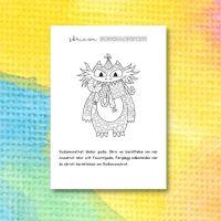 Monsterberättelser – skriv om Godismonstret