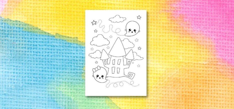 spöken målarbilder